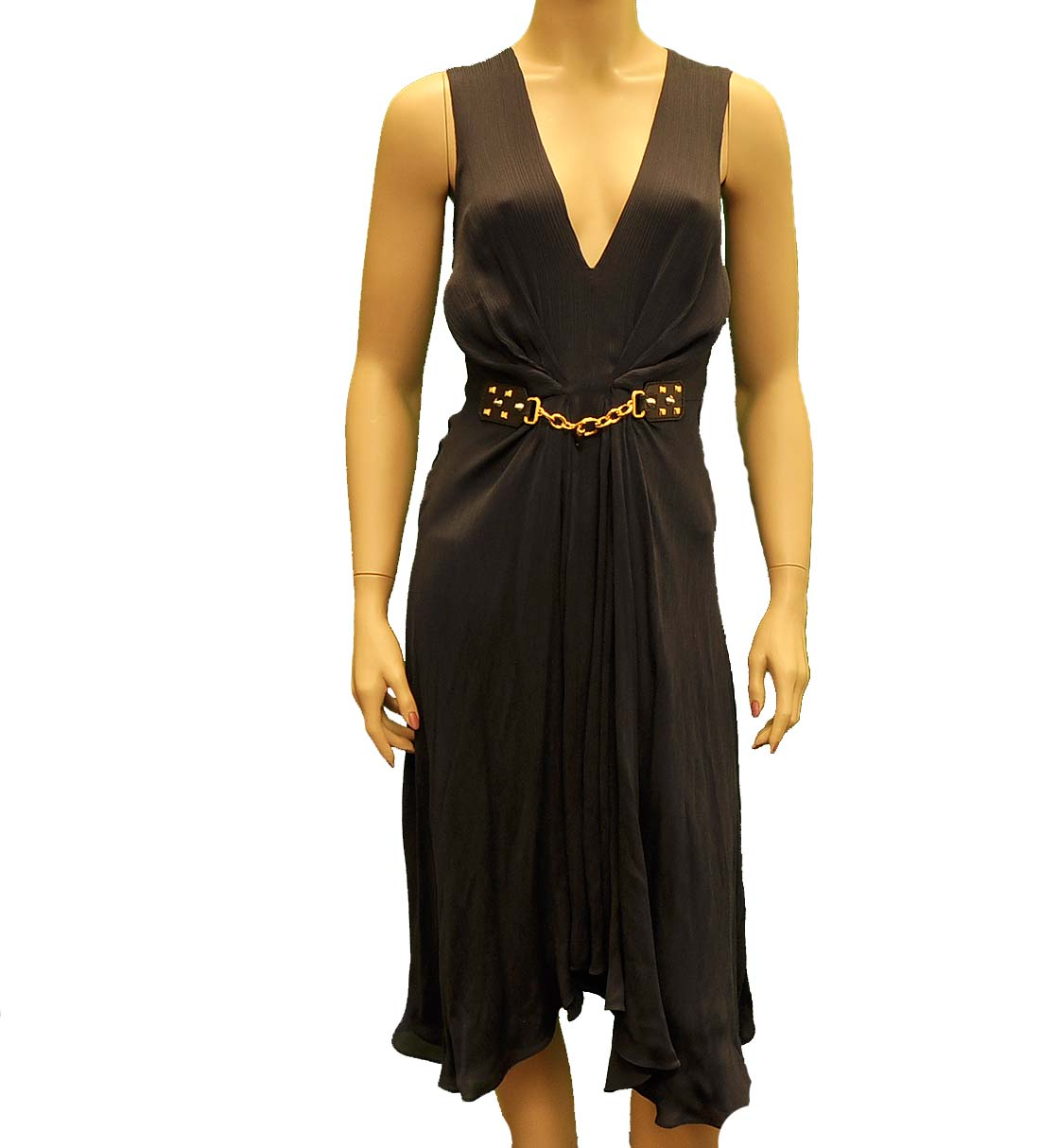 Monnari European Dress Size 38 US 4 Black Fitted Stretch Sleeveless Zip NWT See more like this VIPart In Love Size 38 Medium Stretch Tulle Overlay Dress Pre-Owned · Love · Size (Women's):M.